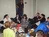 Sunday breakfast: Chloe, Jennifer, Jack, Ben, Livy, Micah, Valentina, Alex