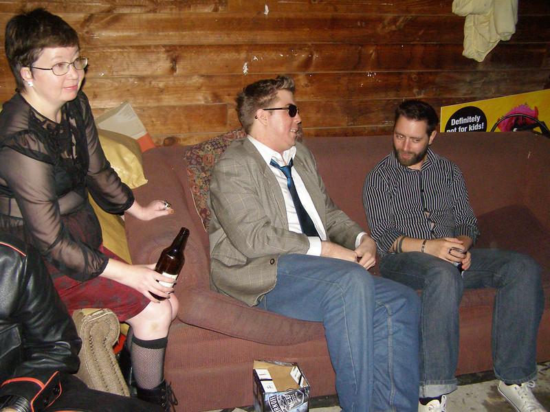 Rebecca, Steven, Paul