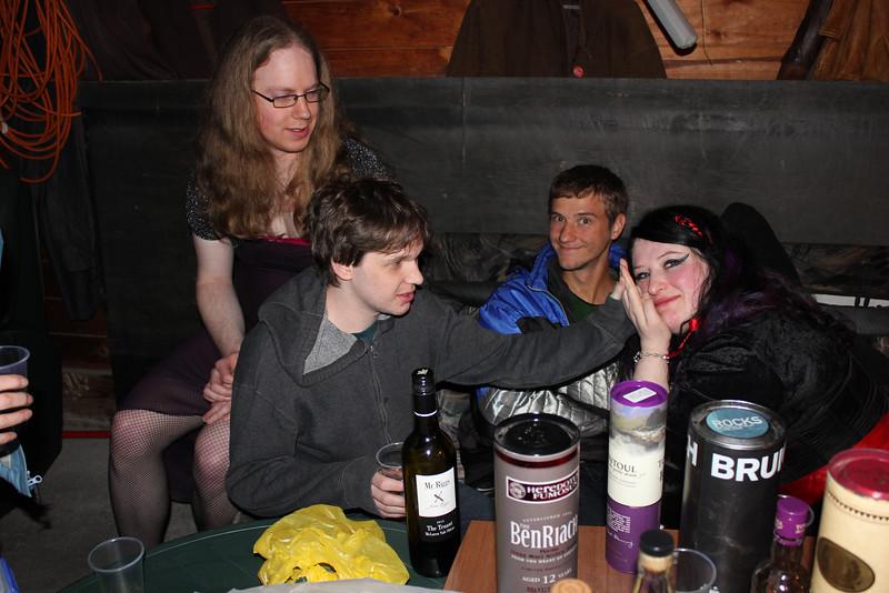 Joanna, Nick, ?, Marama (photo from Phil)