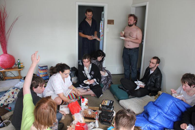 Nick, Jennifer, Chloe, Jack, Ben, Livy, John, Micah, Alex (photo from Phil)