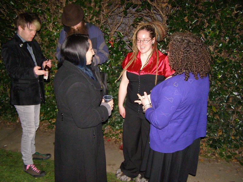 Danny, ?, Dana, Rachael, Rachel