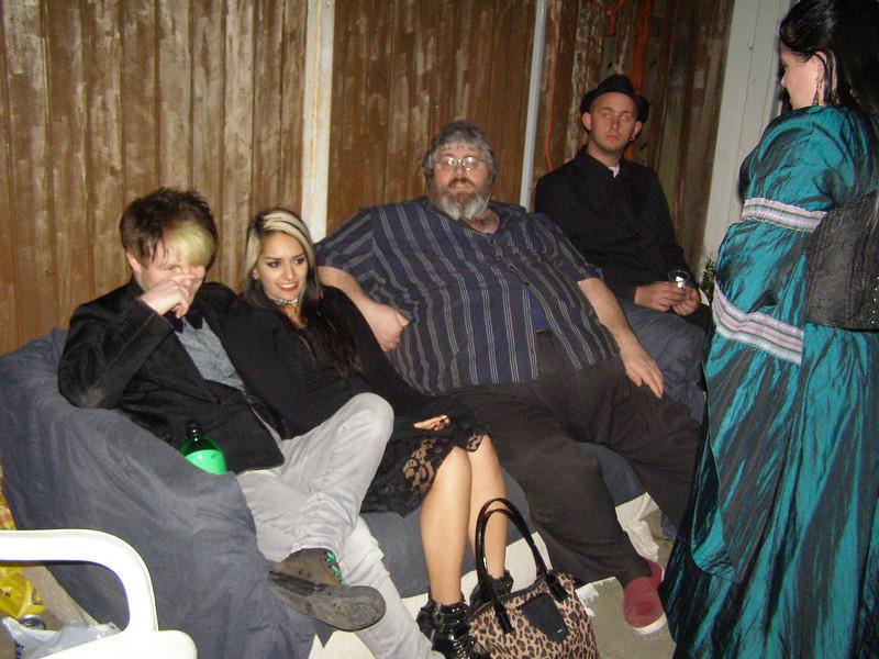 Danny, Mo, Bevan, ?, Rochelle
