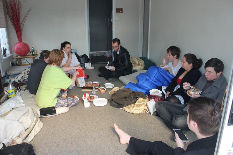Nick, Jennifer, Chloe, Micah, Alex, Valentina, Hazel, Stephen (photo from Phil)