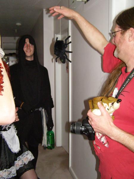 Patrick, spider, Phil