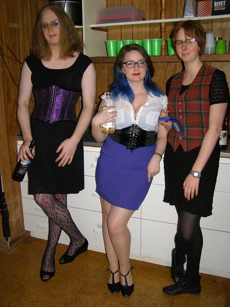 Joanna, Amelia, Jennifer