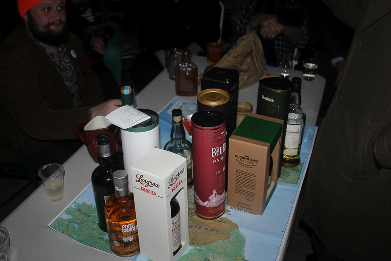 Pre-whisky tasting (photo from Phil)
