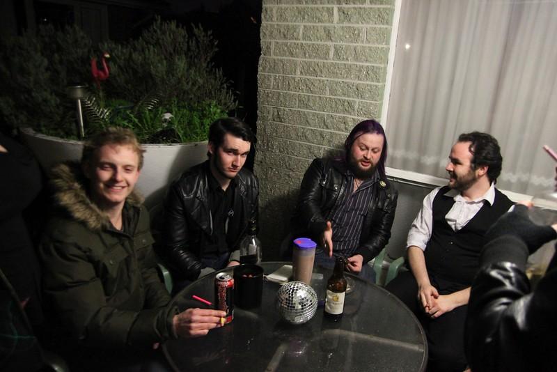 Grant, Patrick, John, Joe (photo from Phil)