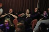 Chris, Heidi, Lorna, (Flash), Jordan, Uther, Oliva, Pete (photo from Phil)