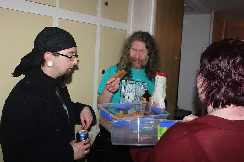 Slosh, Danny, Rah (photo from Phil)