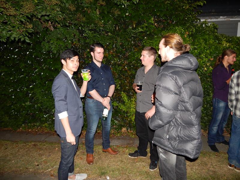 Michael, Patrick, Scott, Leif, Yuri