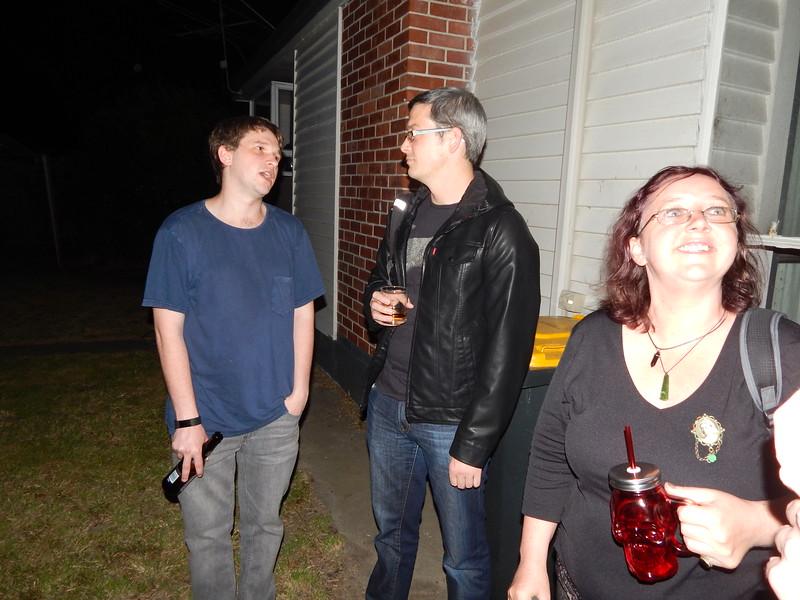 Nick, Matt, Fluffi