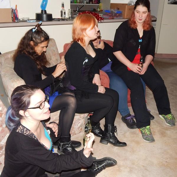 Amelia, Jenny, Midnight, Sarah, Hannah