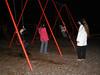 Swings: Nick, Sequoia, Roisin, Phil