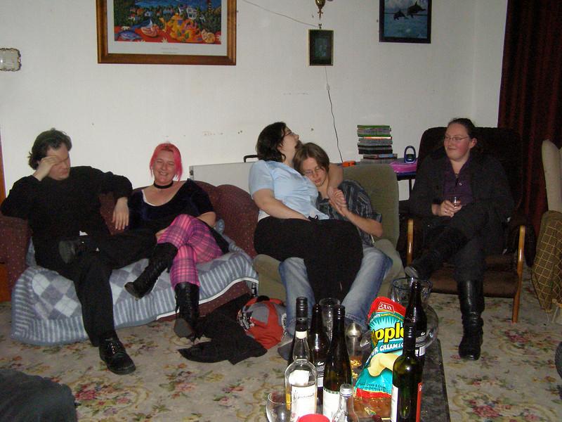 Ryan, Mia, Laura, JD, Sam