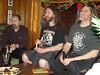 Three bearded men: Seth, Danny, Phil