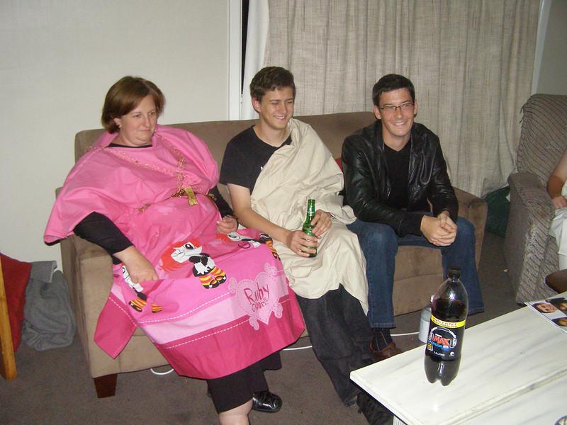 Natalia, Thomas, Matt