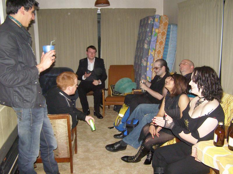 Seth, Binky, Matthew, ?, Mo, Todd, Louise