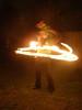 Fire hula-hoop - Paula