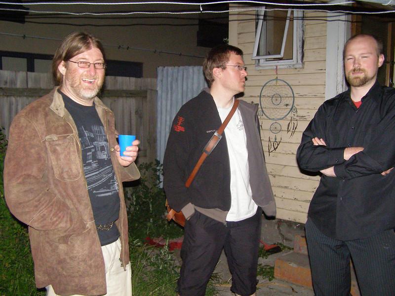 Phil, John M, Trond