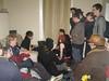 Reviewing the battle - (John), Melina, Declan, Alduin, Steven, Jade, Simeon, David, Ash, (Bryan), Izzy, Chris, Zach