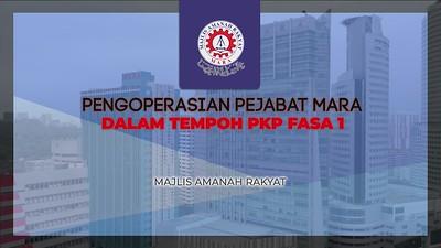 Pengoperasian pejabat MARA dalam tempoh PKP