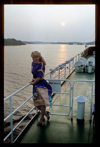 @RobAng / Do 3.7.81, Tanzschiff im Seengebiet Saimaa (FIN)
