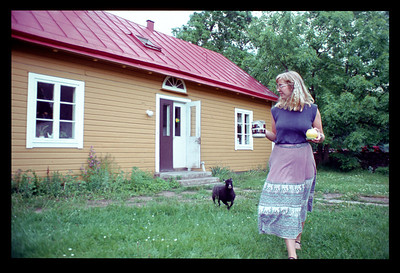 @RobAng / So 21.6.81, Kalmar (bei Cecilia) / vis-à-vis Insel Oeland, SWE