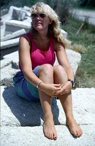 ©RobAng 1984 - Zwei Monate mit Panda durch Südfrankreich, Spanien und Portugal (Juli/Aug 1984)