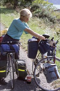 © RobAng 1989, New Zealand by bicycle