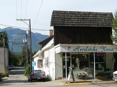 Revelstoke townc, Revelstoke, 449.9 m.ü.M., British Columbia, Kanada