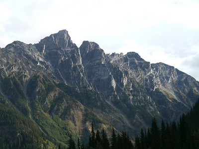 Rogers Pass Summit, Glaciers National Park, 1318.6 m.ü.M., British Columbia, Kanada