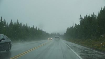 , Banff-/Jasper National Park - Icefields Parkway, 795.9 m.ü.M., Alberta, Kanada