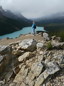Payto Lake (Bow Pass), Banff-/Jasper National Park - Icefields Parkway, 810.2 m.ü.M., Alberta, Kanada