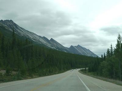 , Banff-/Jasper National Park - Icefields Parkway, 1145.1 m.ü.M., Alberta, Kanada