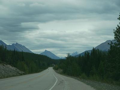 , Banff-/Jasper National Park - Icefields Parkway, 1151.4 m.ü.M., Alberta, Kanada