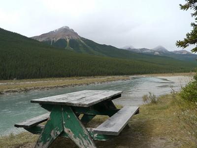 , Banff-/Jasper National Park - Icefields Parkway, 1052.8 m.ü.M., Alberta, Kanada