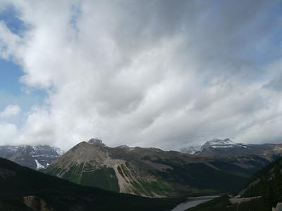 , Banff-/Jasper National Park - Icefields Parkway, 1064.7 m.ü.M., Alberta, Kanada