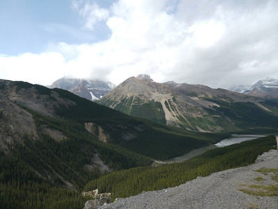 , Banff-/Jasper National Park - Icefields Parkway, 1065.5 m.ü.M., Alberta, Kanada