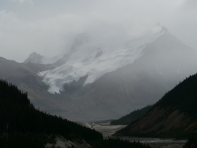 , Banff-/Jasper National Park - Icefields Parkway, 1063.1 m.ü.M., Alberta, Kanada
