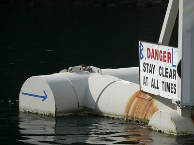 Ferry Saltery Bay - Egmont, 26.5 m.ü.M., British Columbia, Kanada