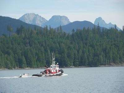 Ferry Saltery Bay - Egmont, 26.6 m.ü.M., British Columbia, Kanada