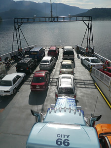 Ferry Saltery Bay - Egmont, 30 m.ü.M., British Columbia, Kanada