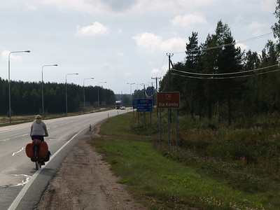 Etappe Vyborg (Russia-Russland) - Hamina (Finnland) / Winterthur-St.Peterburg-Winterthur by bicycle / © Rob Tani, 3.9.08