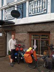 Etappe Hamina - Lovisa (Finnland) / Winterthur-St.Peterburg-Winterthur by bicycle / © Rob Tani, 4.9.08