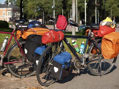 Etappe Hamina - Lovisa (Finnland) / Winterthur-St.Peterburg-Winterthur by bicycle / © Rob Tani, Lovisa 4.9.08