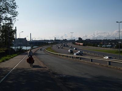 Etappe Lovisa - Helsinki (Finnland) / Winterthur-St.Peterburg-Winterthur by bicycle / © Rob Tani, Helsinki 5.9.08