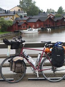 Etappe Lovisa - Helsinki (Finnland) / Winterthur-St.Peterburg-Winterthur by bicycle / © Rob Tani, Porvoo 5.9.08