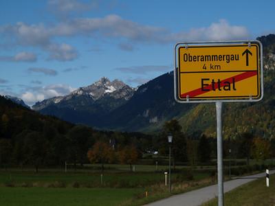 Oberammergau-Jungholz (Deutschland / Germany) / Switzerland - St. Petersburg - Switzerland by bicycle / © Rob Tani, Okt. 2008