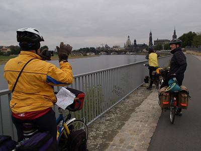 Winterthur-St. Petersburg-Winterthur by bicycle - on the way home // begleitet von den AmiciDiBici von Berlin via Dresden nach Prag / Etappe Bad Liebenwerda-Dresden (Deutschland - Germany)