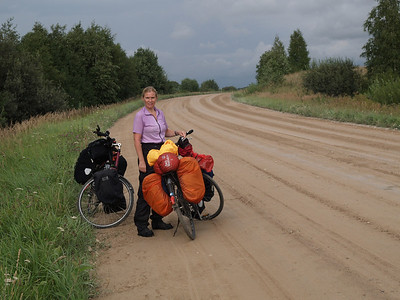 Etappe Mazeikiai (Lithuania - Litauen)  - Tukums (Latvia-Lettland) / Winterthur-St.Peterburg-Winterthur by bicycle / © Rob Tani, 22.8.08